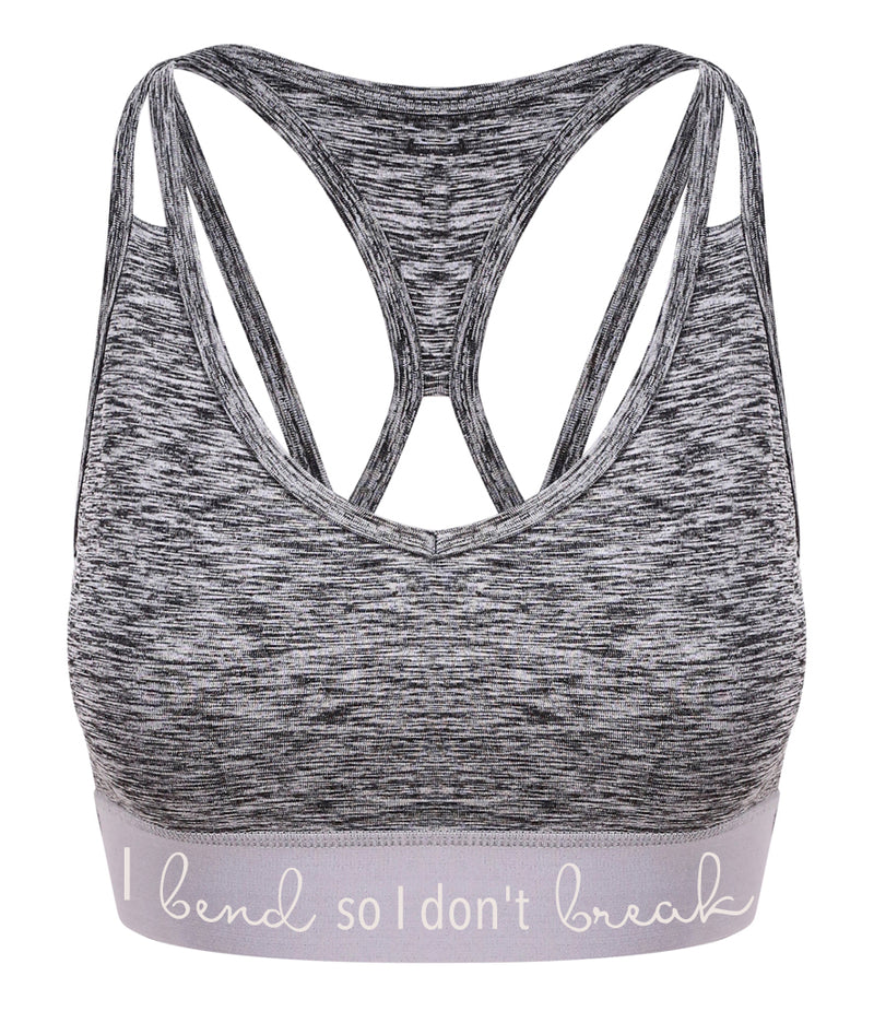 Ladies Performance Cross Back Crop Top