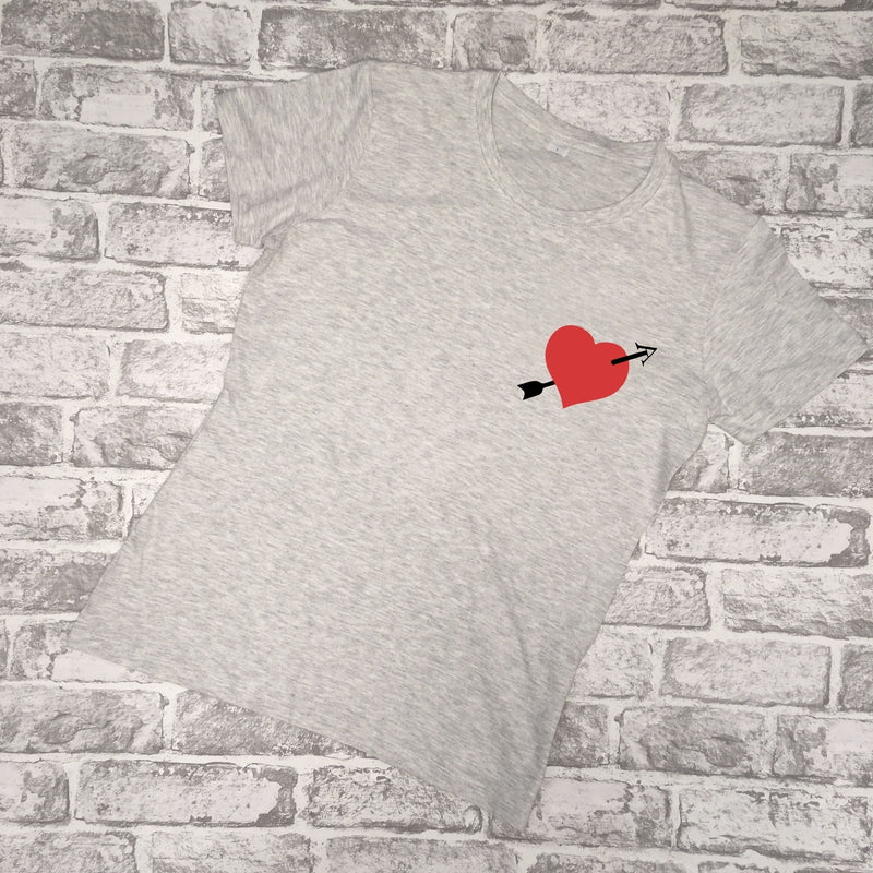 Arrow Heart Ladies Tee