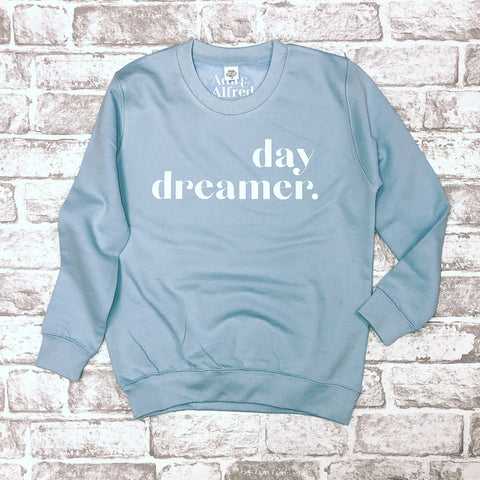 'be an icon' Older Kids Sweatshirt - Sky Blue