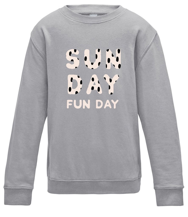 Sunday Fun Day Unisex Adults Sweatshirt