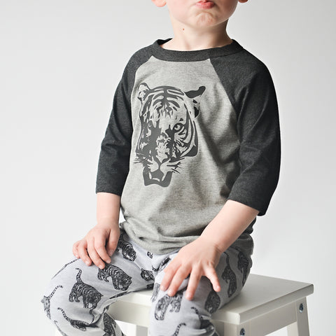'ROAR' Kids T-Shirt - Black*