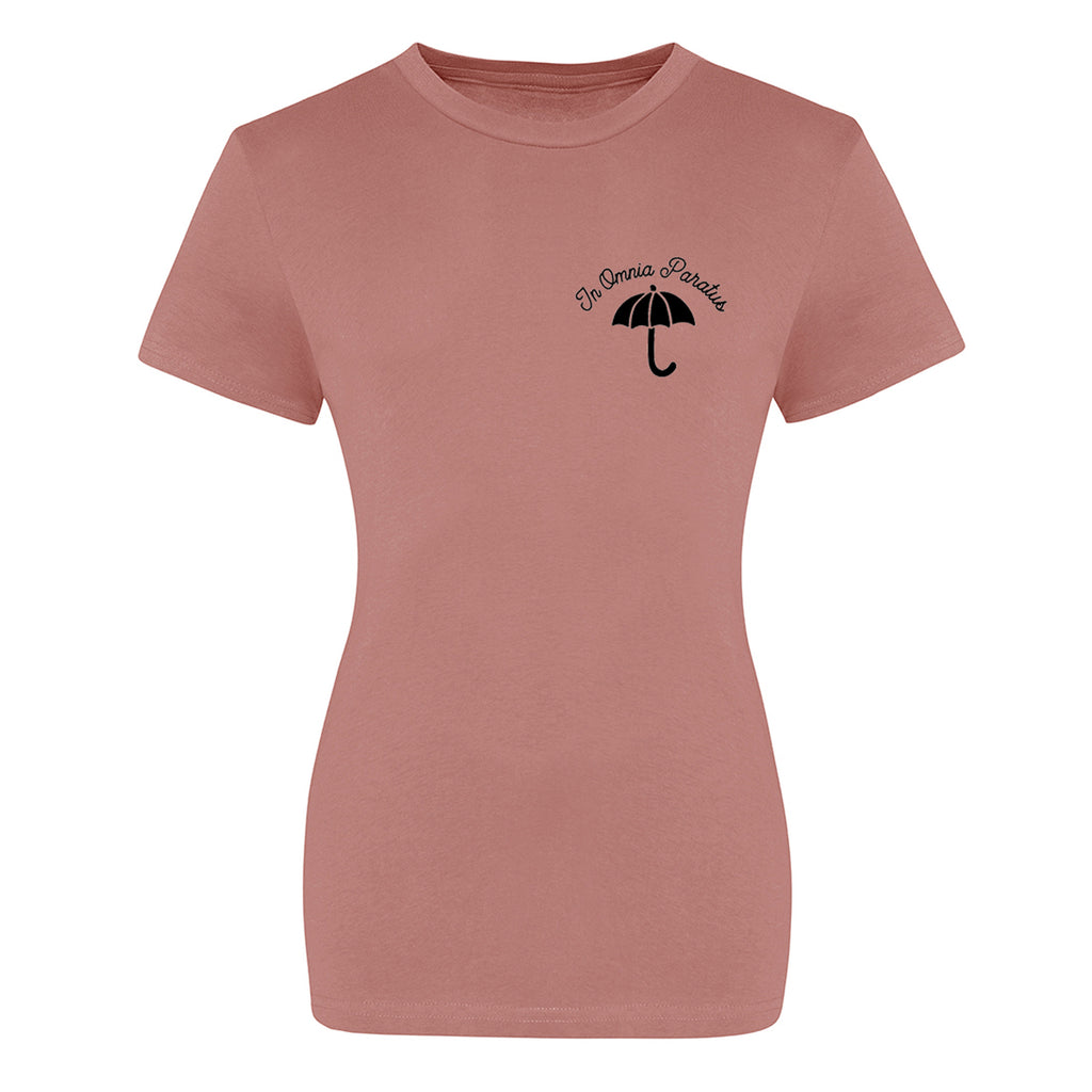 'In Omnia Paratus' Logo T-Shirt - Ladies Fit
