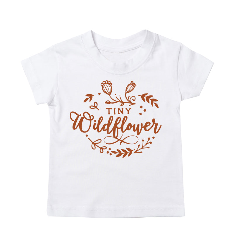 'Tiny Wildflower' Baby/Kids T-Shirt