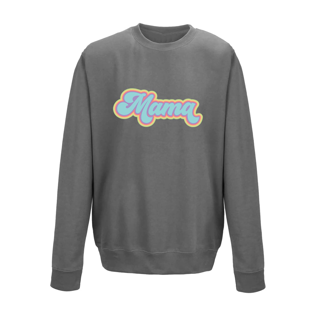 'Mama' Retro Sweatshirt - Unisex Fit