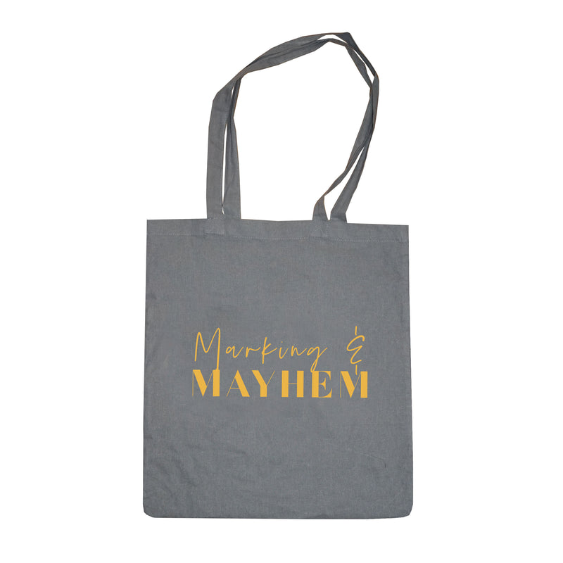 'Marking & Mayhem' Teacher Tote Bag