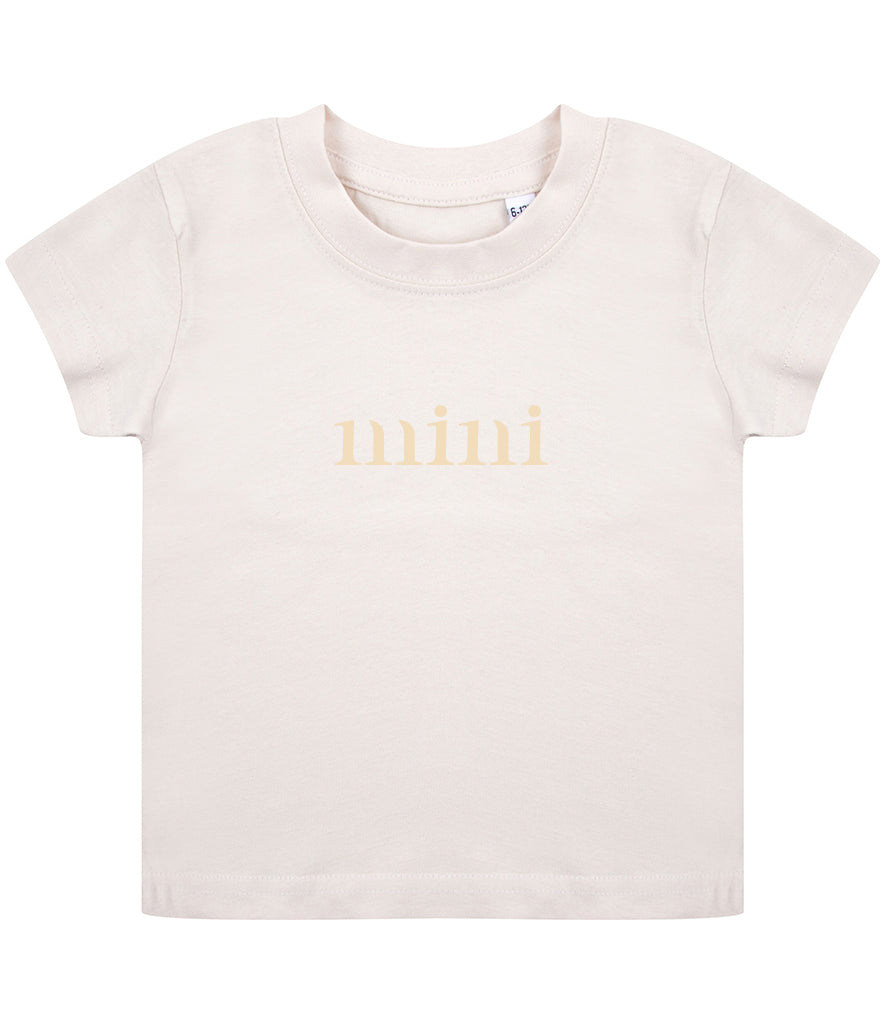 Simple Sibling/Mini T-Shirt - Baby/Todder