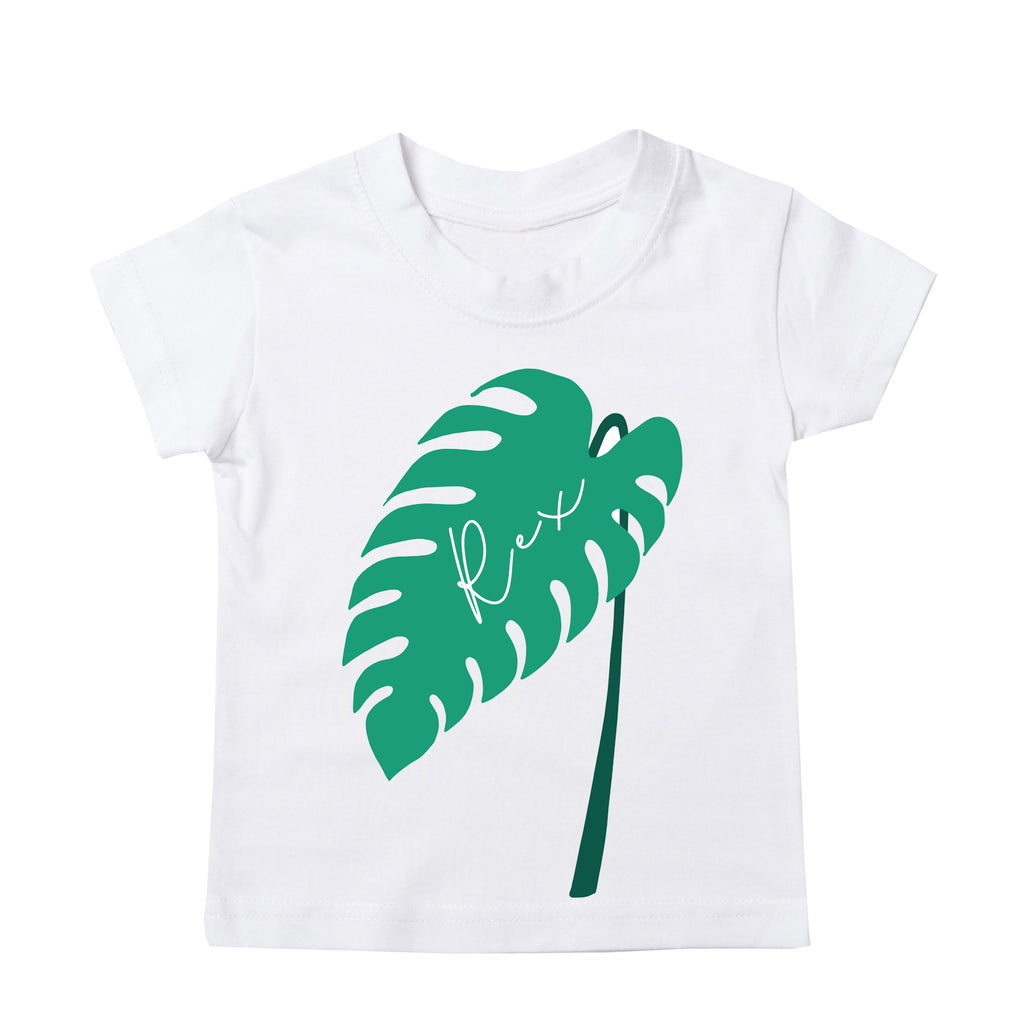 Personalised Monstera Leaf T-Shirt
