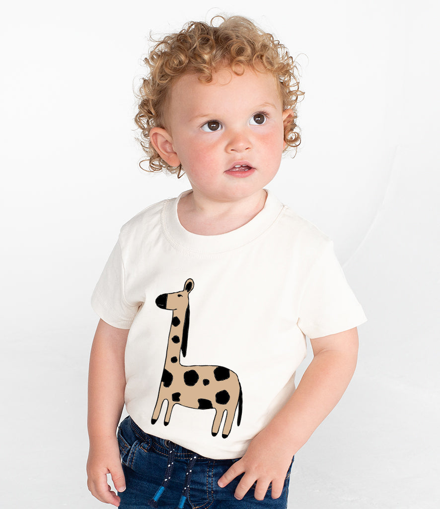 Baby/Toddler Quirky Animal T-Shirt - 4 Designs