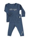 Sleepy Ribbed Lounge Set - Adults