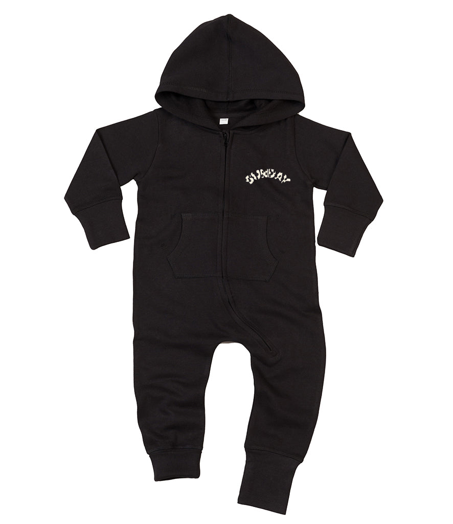 Baby/Toddler 'Sunday Sweats' Hooded Onesie