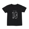 Kids Birthday T-shirt 1-10 Years - Black