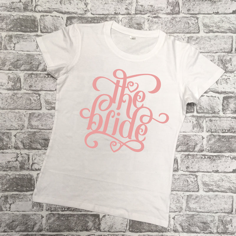 'The Bride/Bride's Crew' T-shirt