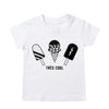 Tiger Face Baseball T-Shirt