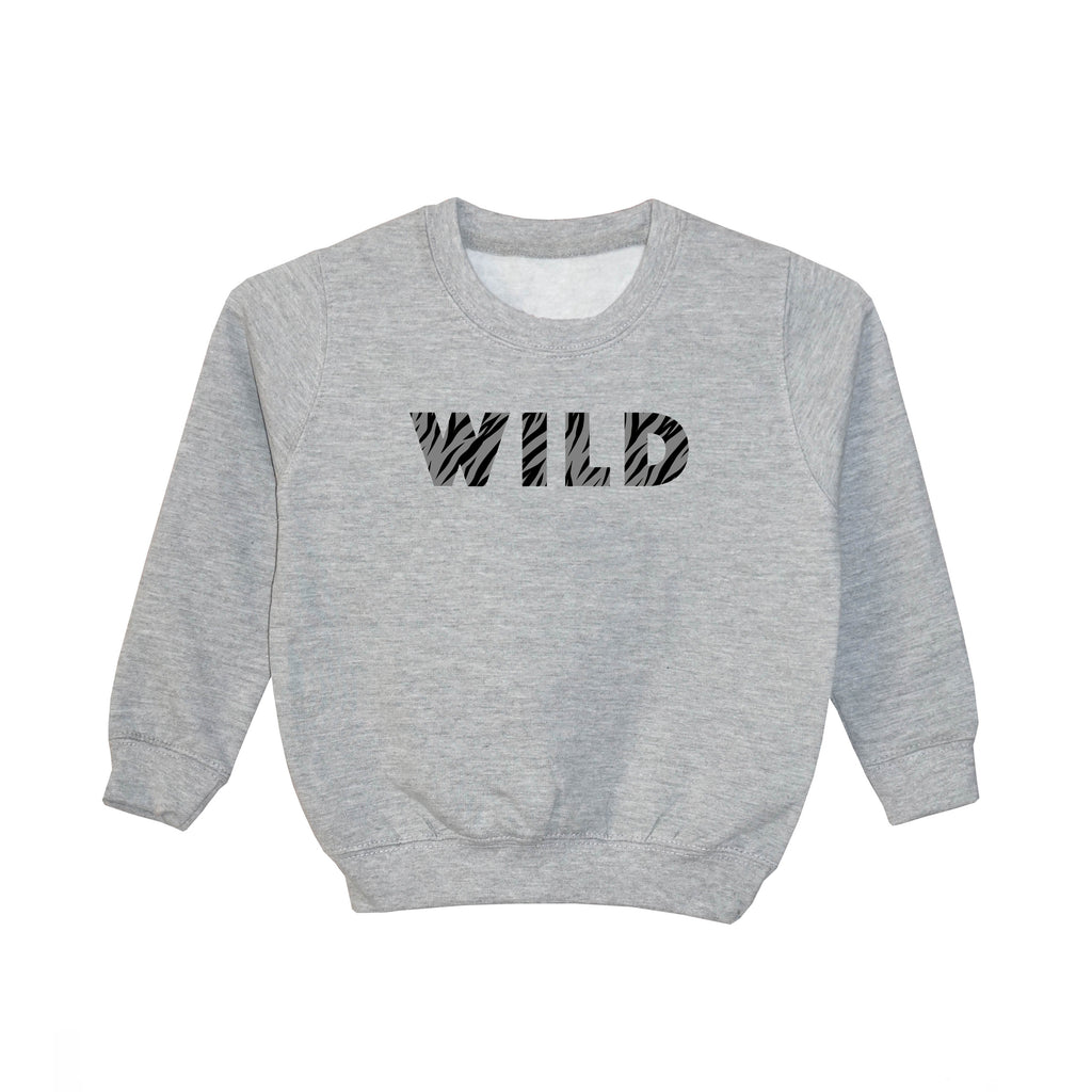 'WILD' Older Kids Sweatshirt (3-13 years)
