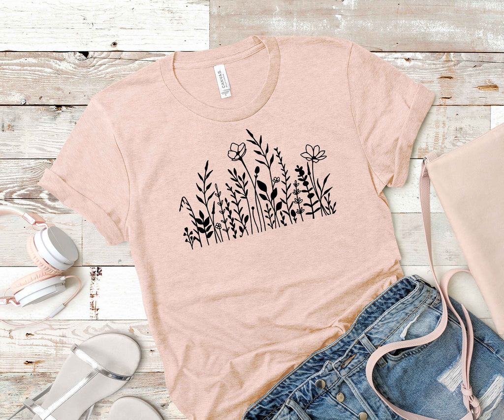 Wildflower Meadow Unisex Fit T-Shirt