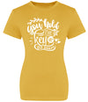 ' I Can, We Can, She Can' Ladies Slogan T-Shirt