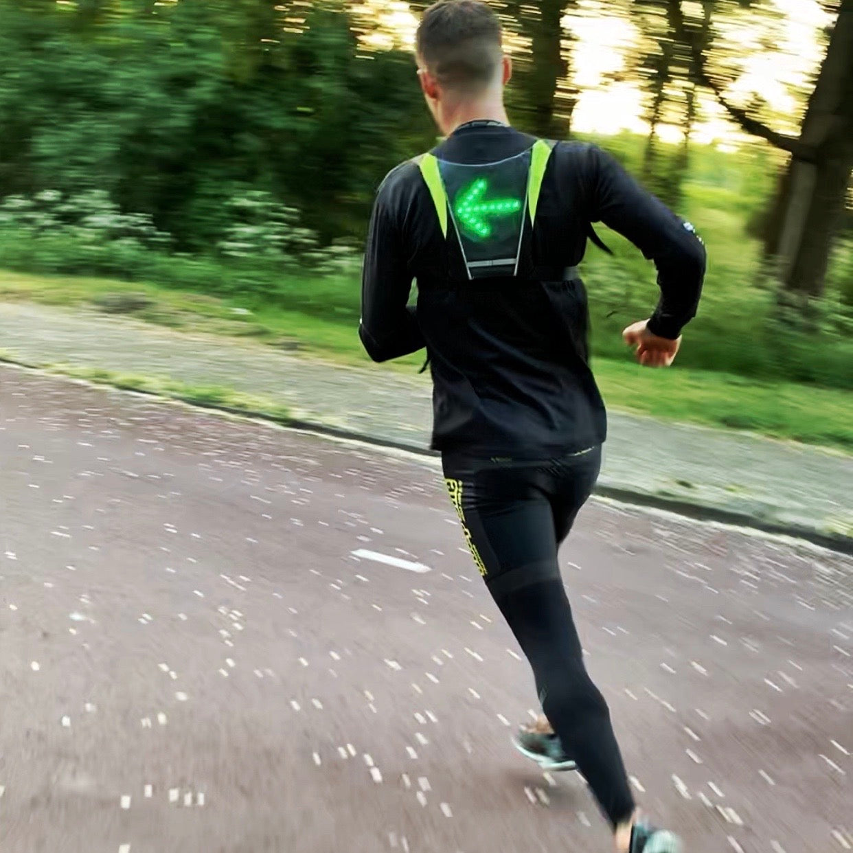 LedVest ™ | The World's Safest Running and Cycling Vest