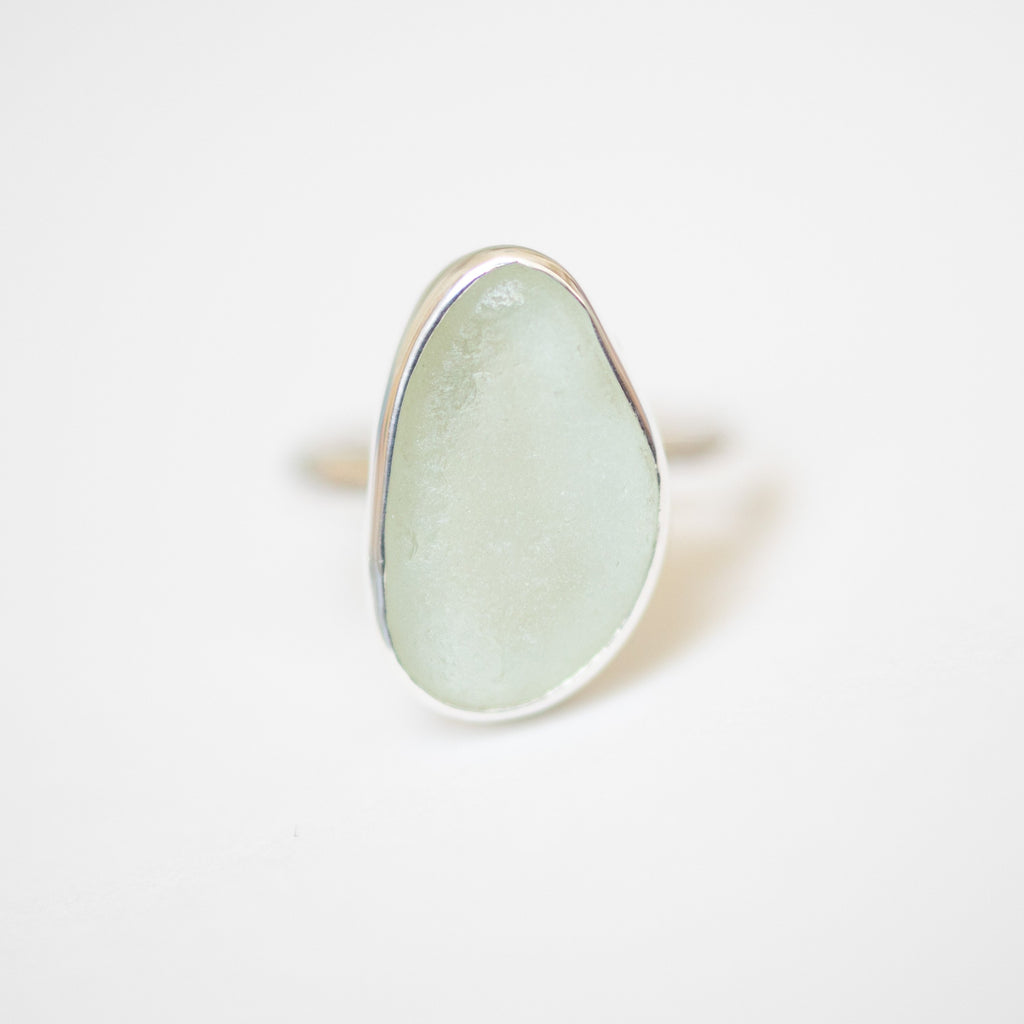 BEACH GLASS RING - SIZE P (3) Ring Spindrift Collections
