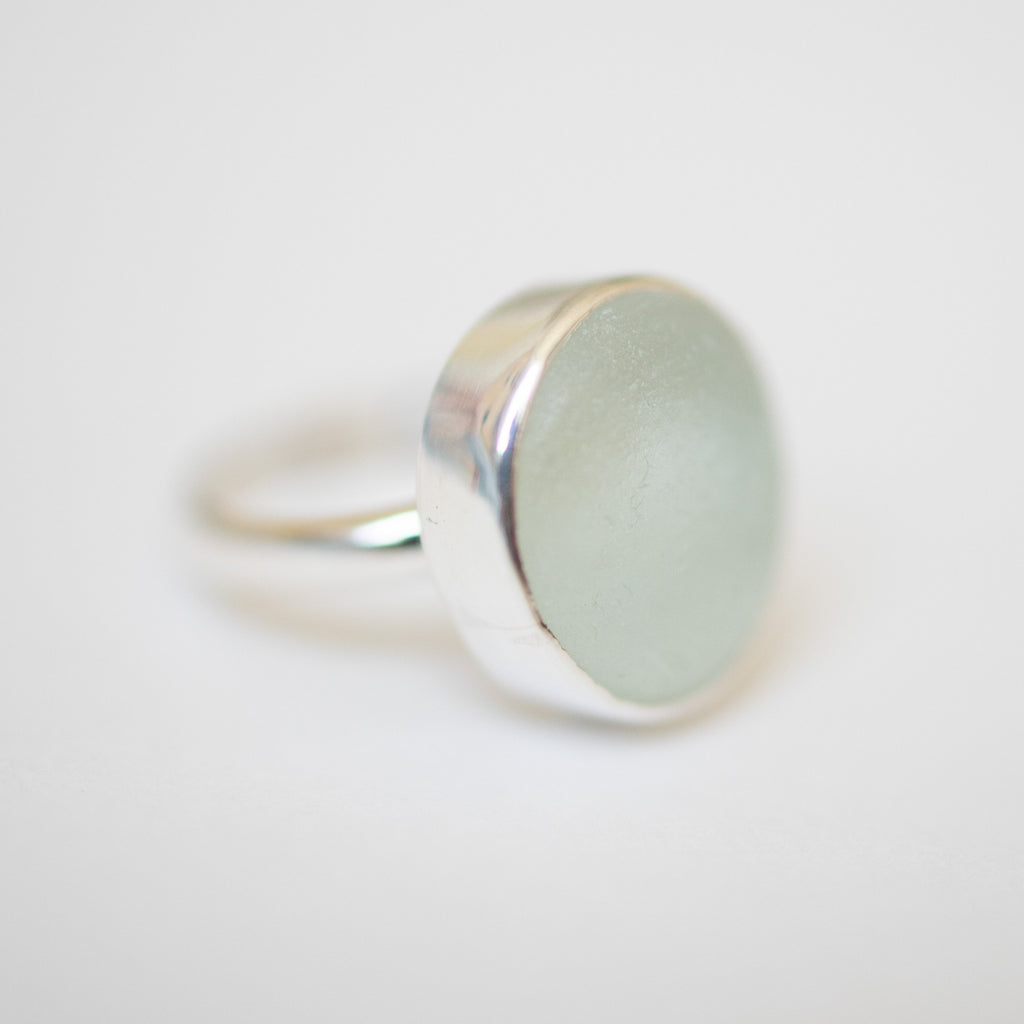 BEACH GLASS RING - SIZE L (2) Ring Spindrift Collections