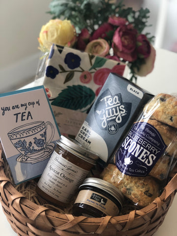 Gift Basket - Tea & Jam