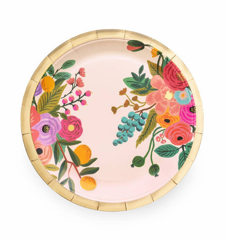 Garden Party Paper Plates