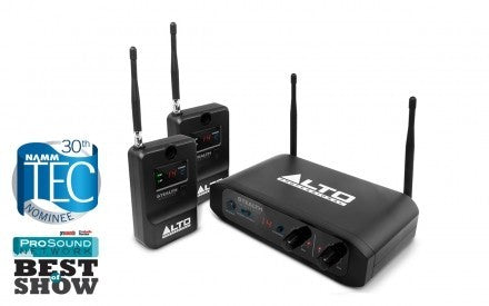 Alto Stealth Wireless STEREO WIRELESS SYSTEM FOR ACTIVE LOUDSPEAKERS