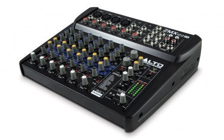 Alto ZMX122 FX 8 Channel Mixer With Effects