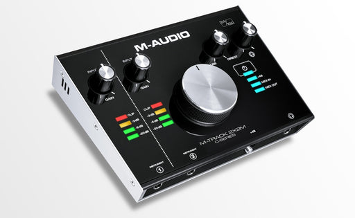 M-AUDIO M-Track 2x2M 2In/2Out 24/198 USB audio/midi interface