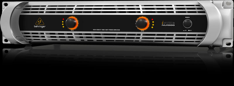 Behringer iNUKE NU1000 Rackmount Stereo Power Amplifier