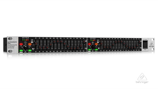 Behringer ULTRAGRAPH PRO FBQ1502 Dual Channel 15-Band Graphic Equalizer