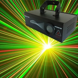 Microh DJ FIREFOX RG. MULTI BEAM DMX RED AND GREEN LASER
