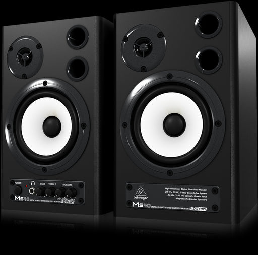 Behringer MS40 40-Watt Digital Monitor Speakers (Pair)