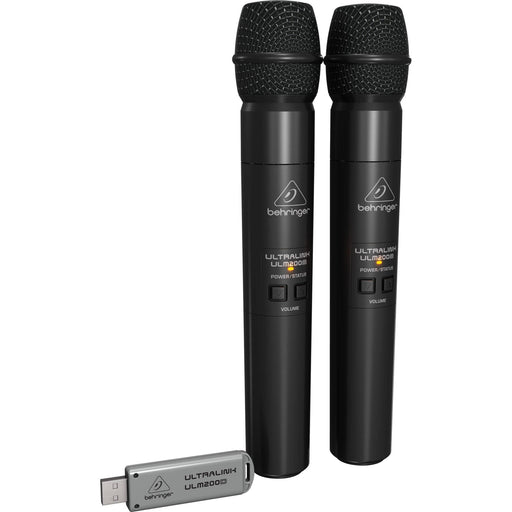Behringer ULM202USB Dual Wireless USB Microphones