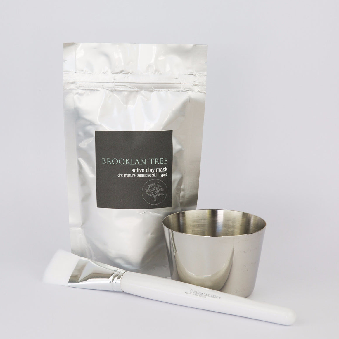 Active Clay Mask Kit  for Dry, Mature & Sensitive Skin