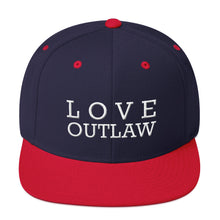 Load image into Gallery viewer, LOVE OUTLAW - Snapback Hat