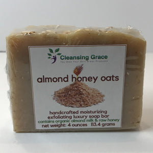 Almond Honey Oats Soap Bar