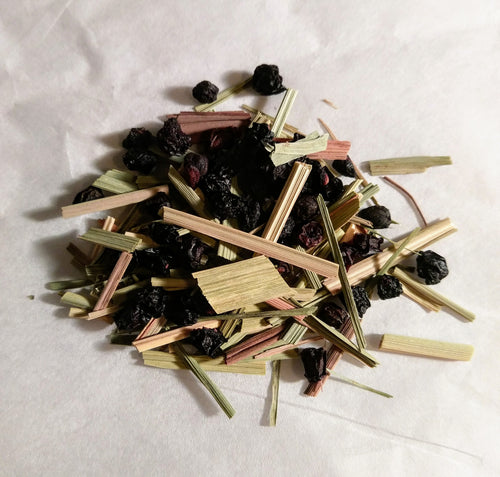 Elderberry Lemongrass Tea 6 Bag Sample Pack