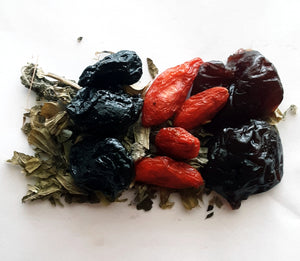 Blueberry Cherry Goji Balm Tea 6 Bag Sample Pack