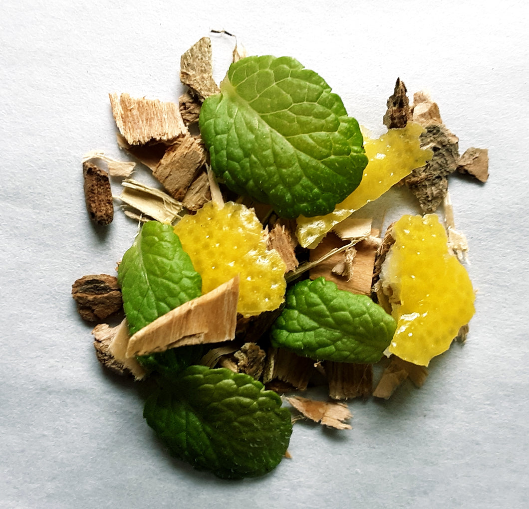 Lemon Mint White Willow Tea 6 Bag Sample Pack