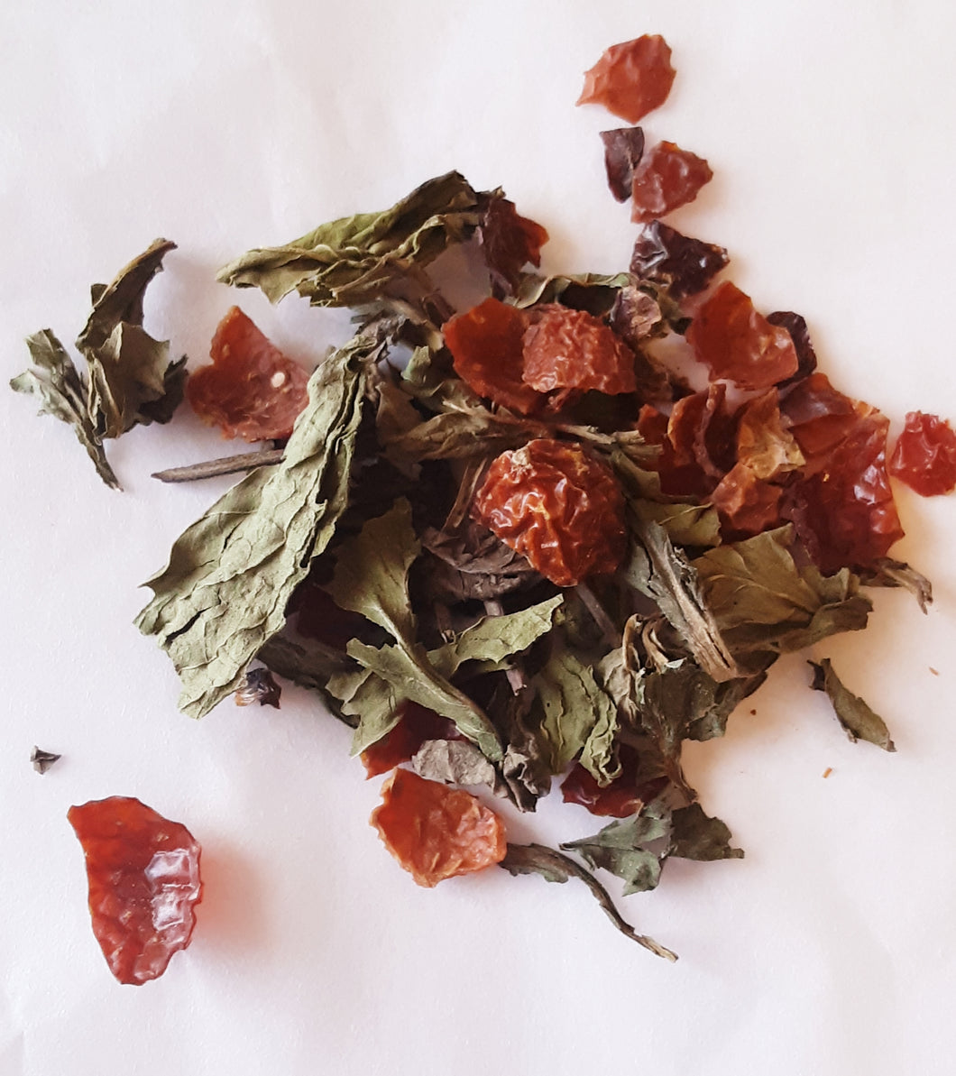Spearmint Rose Tea 6 Bag Sample Pack