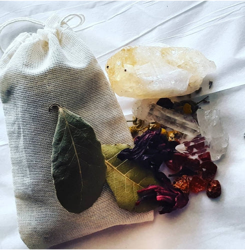 Cinnamon Rose Hibiscus Tea Bath Bag