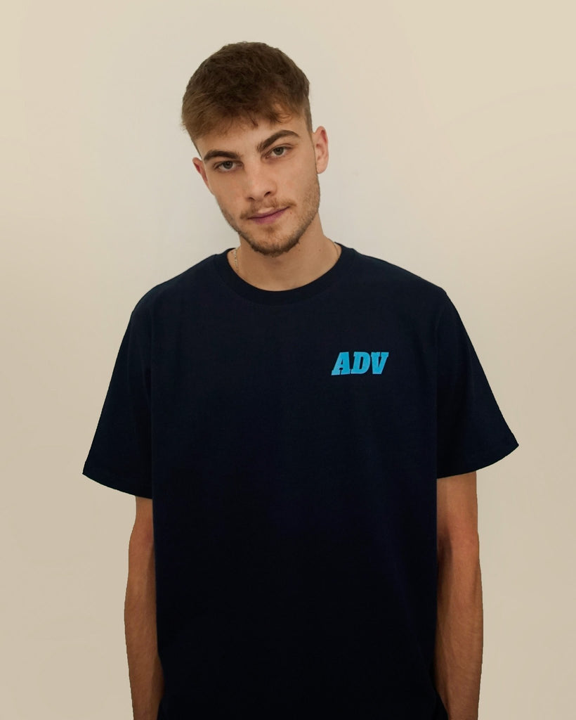 Casual Tee Blue - Art de vivre