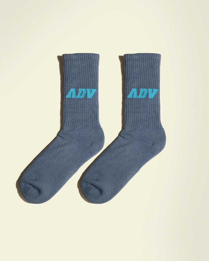 Tennis Socks Blue - Art de vivre