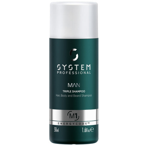 SYSTEM MAN Triple Shampoo 250ml