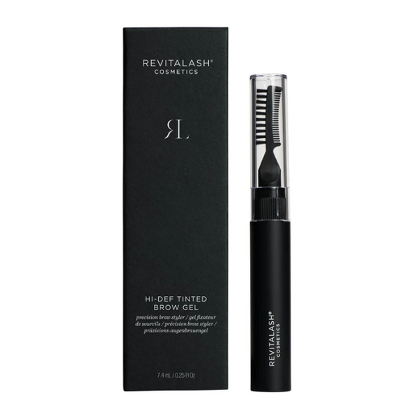 RevitaLash® Hi-Def Tinted Brow Gel - Dark Brown