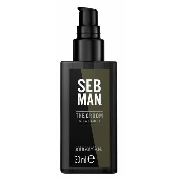 SEB MAN THE GROOM HAIR & BEARD OIL 30ML