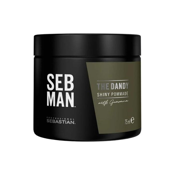 SEB MAN THE DANDY LIGHT HOLD POMADE SHINY FINISH 75ML