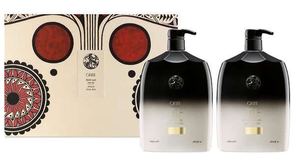 Oribe Gold Lust Liter Set