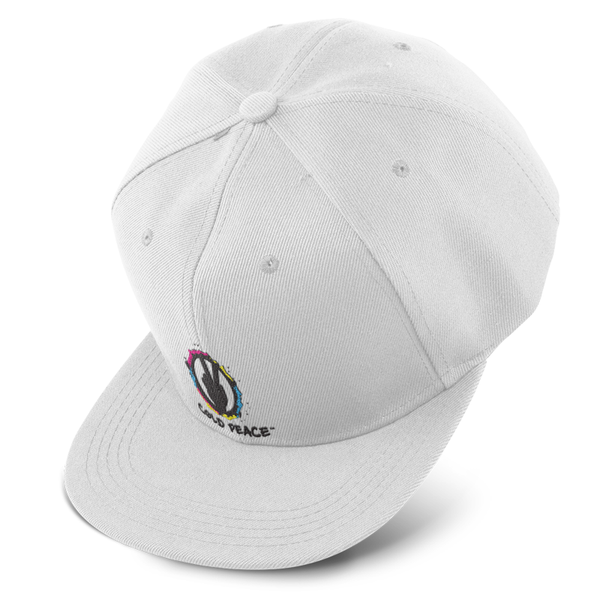 Unisex CP Color White Snapback