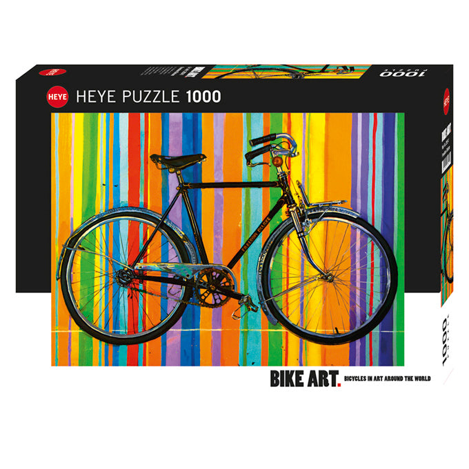 Heye: Bike Art, Lempert, Freedom Deluxe (1000 pcs)